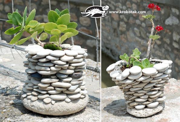 Декор на даче из камней фото
