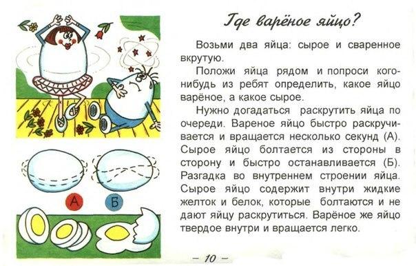Интересныеы с яйцами