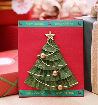 Большие открытки своими руками на новый год