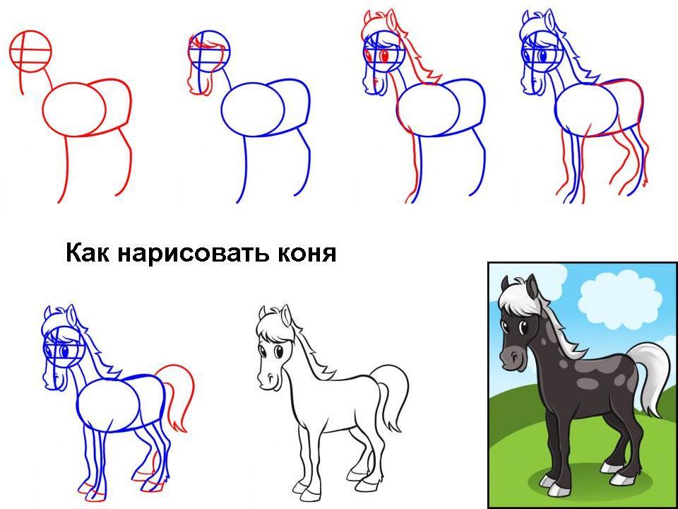 kak-narisovat-konya