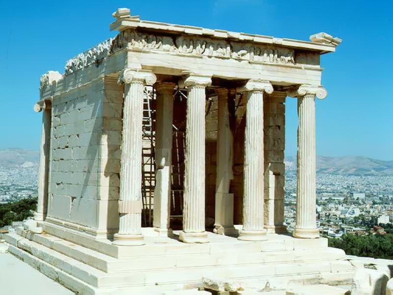 El arte y la historia - El arte en el oriente proximo - Grecia 15 - Templo