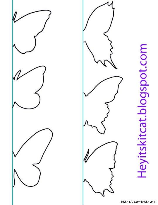 Как сделать бабочку своими руками из бумаги