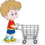 1243231-caucasian-boy-pushing-a-shopping-cart